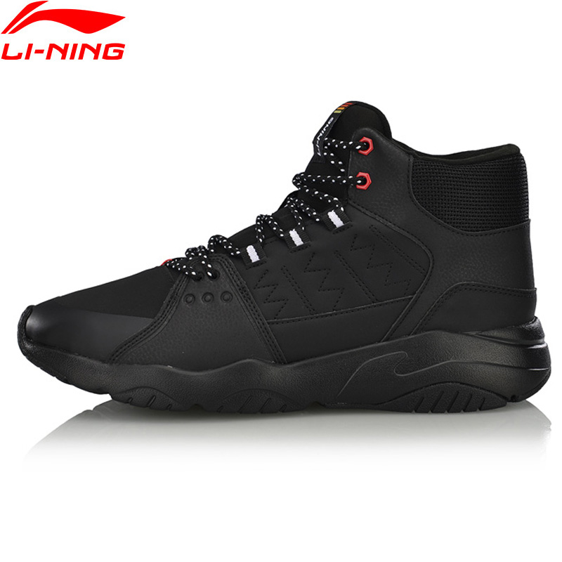 Li Ning Men LN PIONEER Walking Shoes Breathable Wearable LiNing Comfort Sport Shoes Classic Sneakers AGCN125