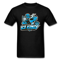 One Piece Anime T Shirt Ice Club Kings Mens Cool Tshirts Plus Size Make Your Own Dress T-Shirts Team Group Gift Tops T Shirt
