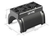 SKYRC 55mm doppel Fan 5V Bürstenlosen Motor Kühler Kühlung mit Gehäuse 1/5 RC motor Traxxas X-Maxx