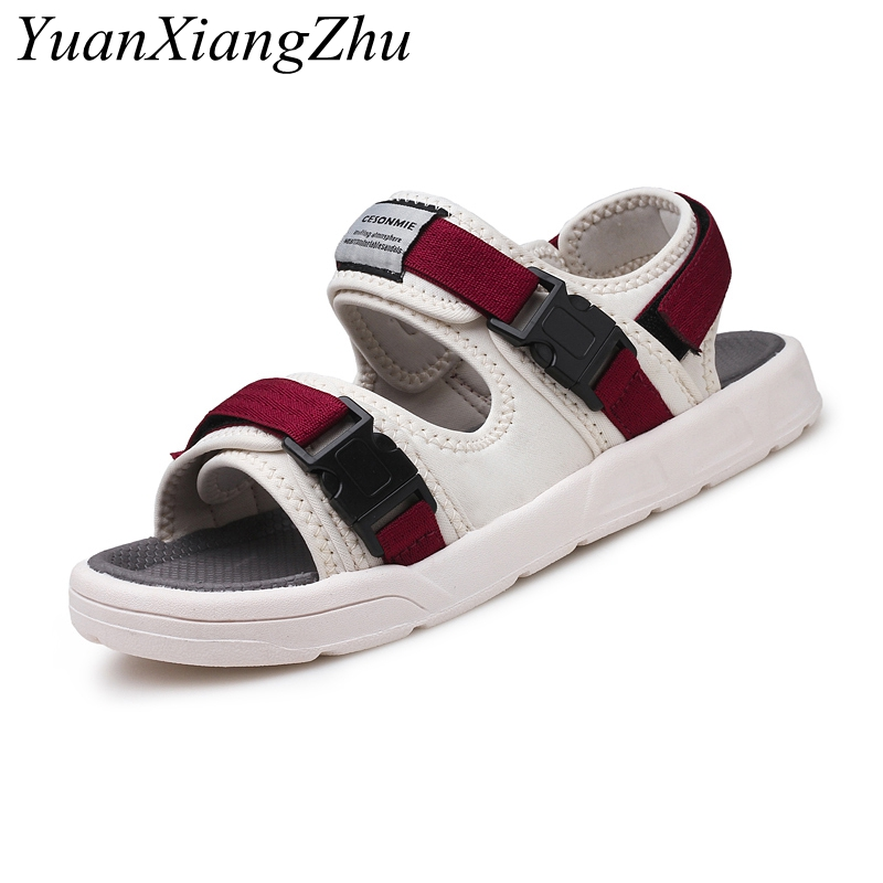 Mens fashion Korean casual sandals tide men 2018 summer new comfortable breathable sanda ...