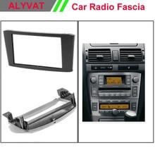 Car DVD GPS CD Frame install facia fit install kit for TOYOTA Avensis 2002-2008 Stereo Fascia Dash CD Trim Installation Kit
