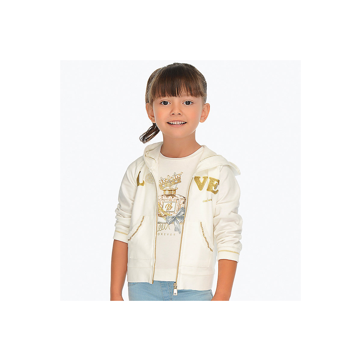 Sweaters MAYORAL 10678586 sweatshirt hoodies for kids cardigan clothes for girls and boys cardigan for boys kotmarkot 15508 kid clothes