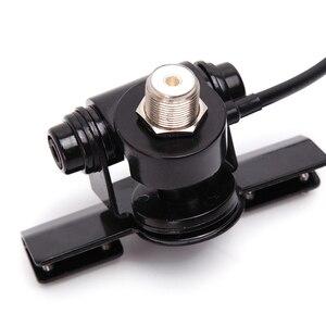 Image 5 - RB 400 araba sabitleme kıskacı araba anteni klip kenar bagaj kapağı Hatchback montaj dirseği cep araç araba radyo + 5m kablo