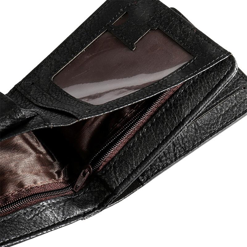 Чоловіки Hasp гаманець шкіряний - Гаманці та портмоне - фото 5