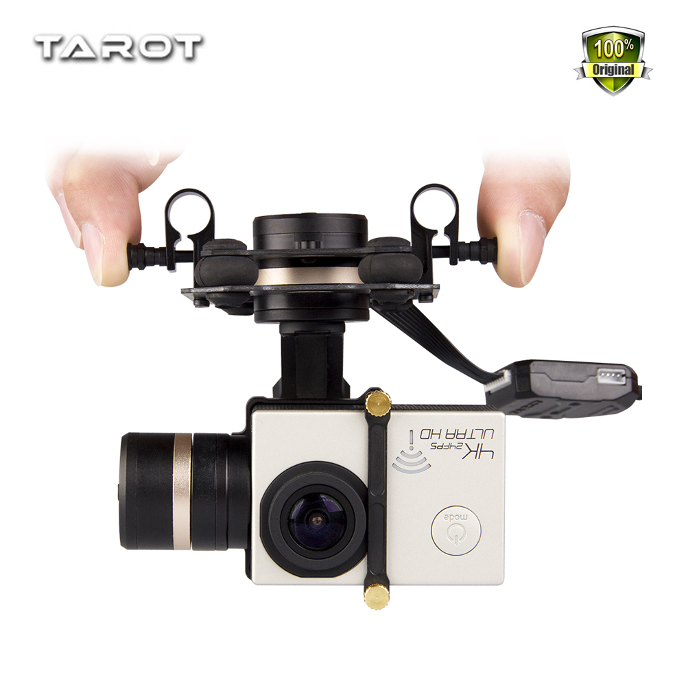 Weyland Tarot 3D III Metal 3-Axle Brushless Gimbal TL3T01 Update from T4-3D for GOPRO GOPRO4 / 3+/ Gopro3 FPV Photography F17391 tarot tl3t01 update from t4 3d 3d metal 3 axis brushless gimbal for gopro 4 3 for gopro3 fpv photography f17391