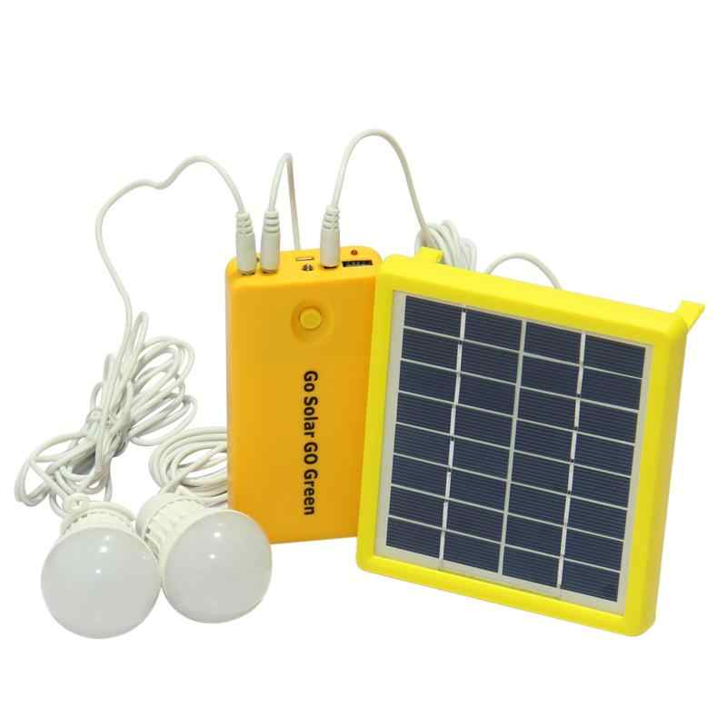 Solar Energy Light Outdoor Lamp LED Camping Light Power Bank with flashlight Rechargeable LED Solar Bulb Lamps