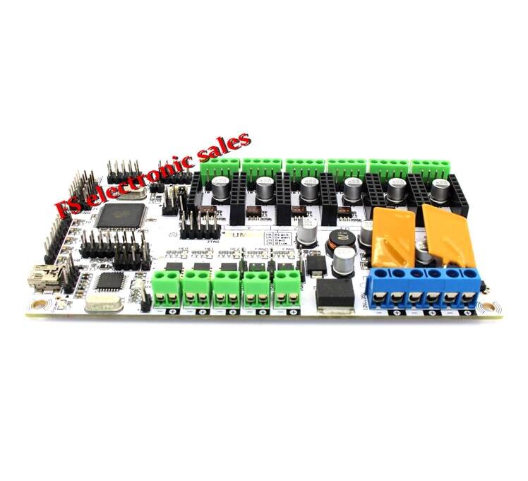 ФОТО For 3D printer BIQU rumba motherboard MPU / 3D printer accessories RUMBA optimized version control Board with DRV8825