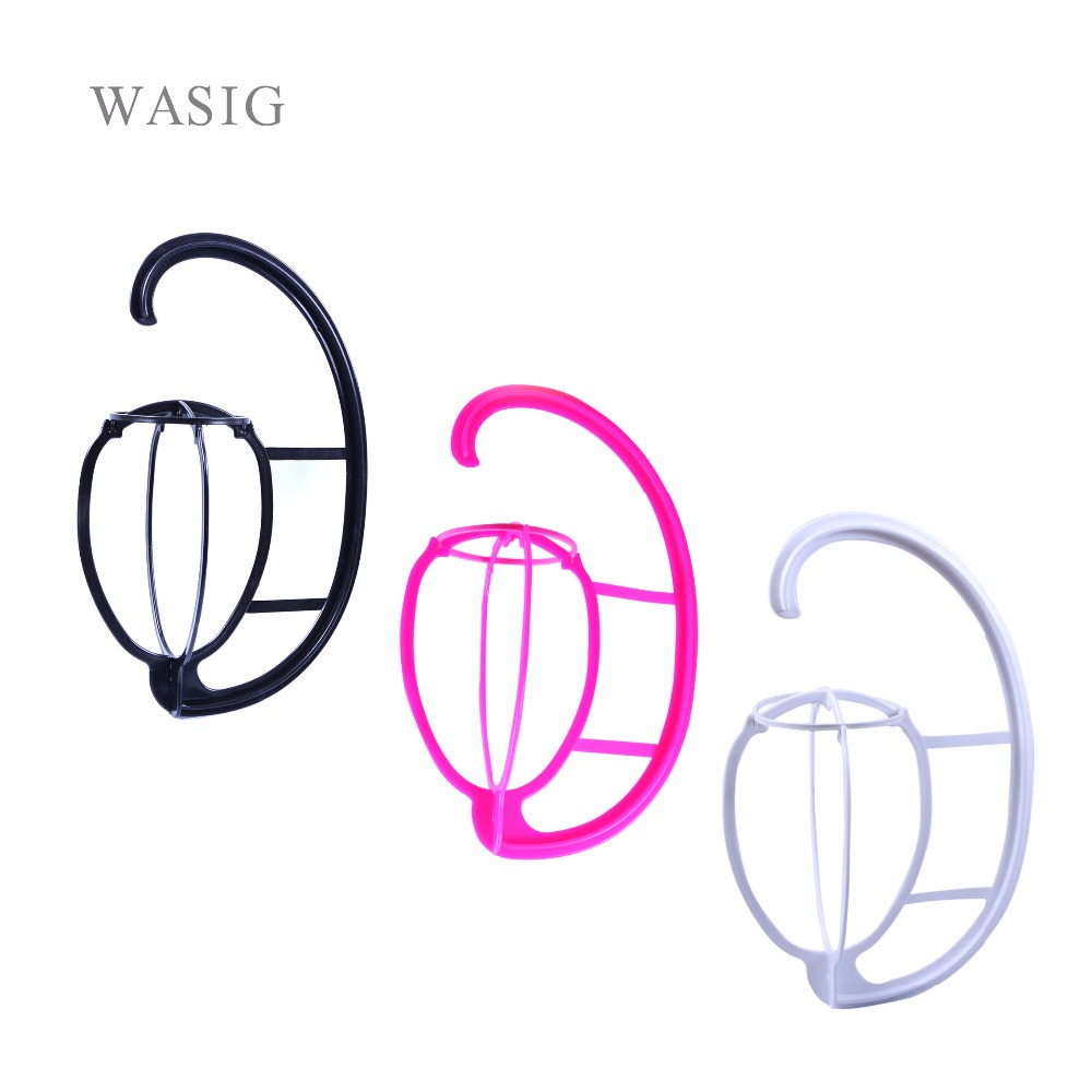 Hanging Wig Stand Plastic DIY Hats Hanger Por Detachable Display Dryer Holder Tool For Long & Short Wigs Cap bomhcs funny wigs beard handmade knitting hats wanderers cap helloween party gifts