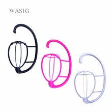 rtable Hanging Wig Stand Plastic DIY Hats Hanger Por Detachable Display Dryer Holder Tool For Long & Short Wigs Cap
