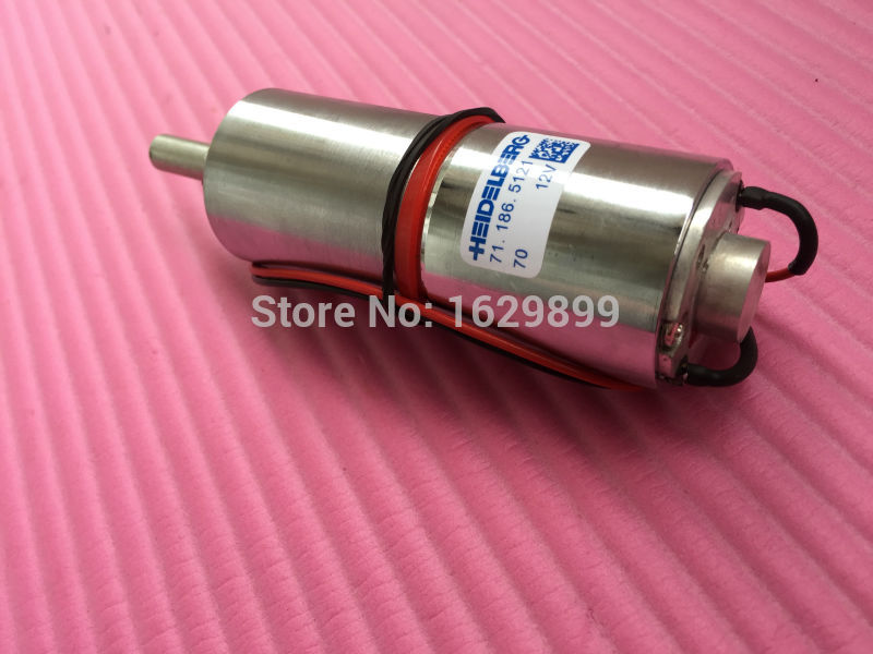 все цены на 1 piece Heidelberg CD102 SM102 gear motor 71.186.5121, 71.186.5121/01, 12V онлайн