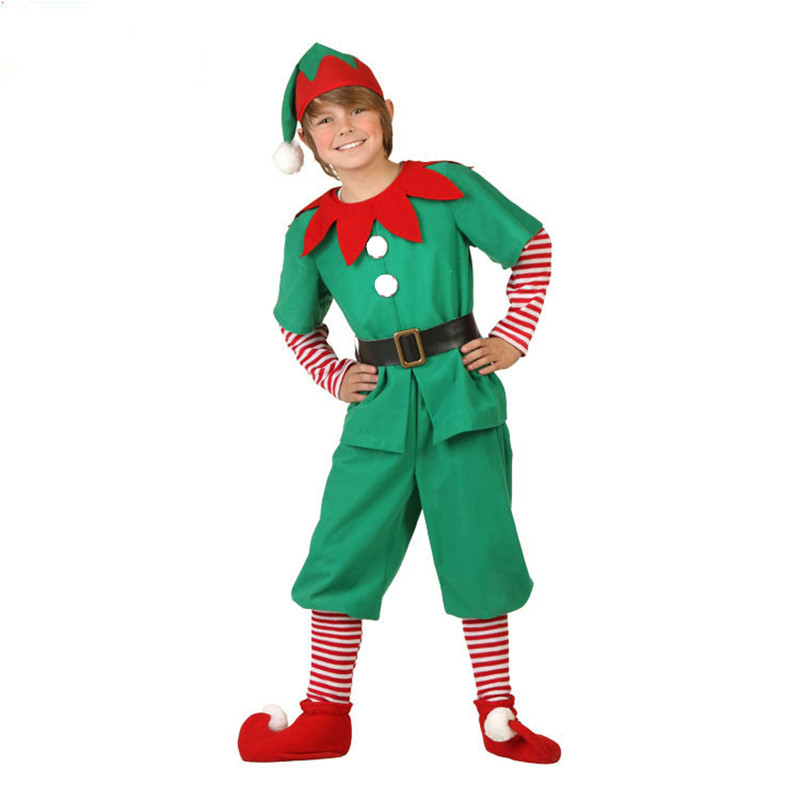 2018 Women Men Boy Girl Christmas Elf Costume Kids Adults Family Green Elf Cosplay Costumes Carnival Party Supplies Purim-in Holidays Costumes from Novelty ...  sc 1 st  AliExpress.com & 2018 Women Men Boy Girl Christmas Elf Costume Kids Adults Family ...