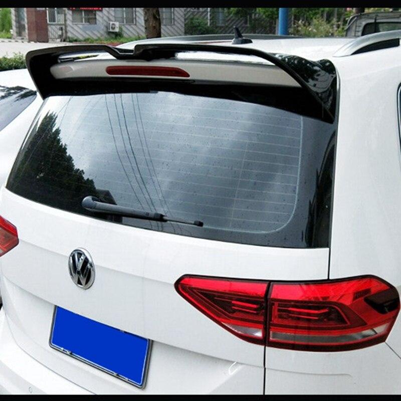 Для VW Touran L спойлер Высокое качество ABS Материал заднее крыло автомобиля unpaint цвет задний спойлер для Volkswagen Touran L спойлер 2016 +