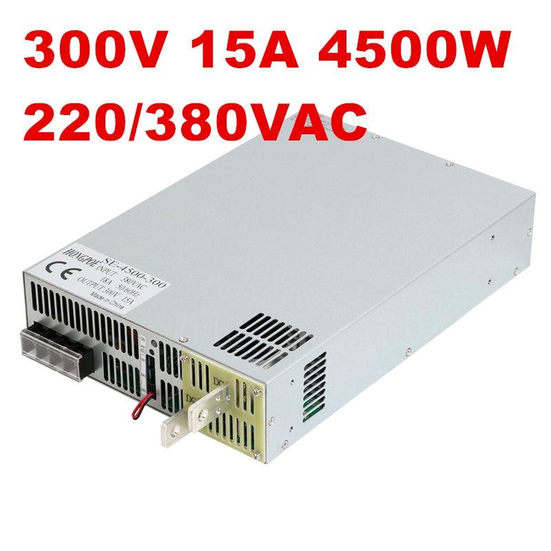 4500 Вт 300 В 15A DC30 300v источника питания 300V15A AC DC высоком Мощность PSU 0 5 В аналогового сигнала управления 3 фазы 3 wire 200VAC 380VAC вход