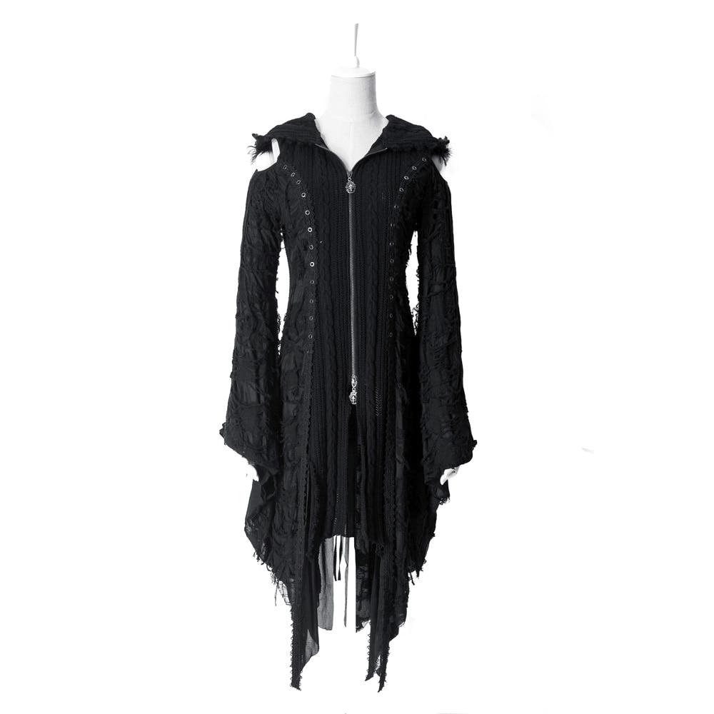 펑크 케라 니트 스웨터 자켓 코트 비주얼 케이 고딕 퇴폐 하라주쿠 카디건 m025-에서가디건부터 여성 의류 의  그룹 1