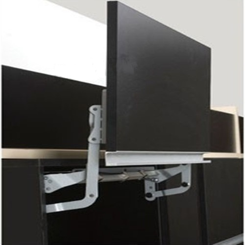 Soft Open Lift Up Mechanism Support System For Cabinet