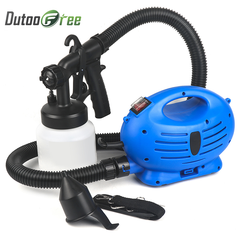 Airbrush 650W Compressor Airless Paint Sprayer HVLP Electric Cars Wall Furniture