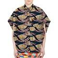 Moda bat-wing de manga corta camisa de los hombres de colores dashiki africano imprimir tops diseño camisas a medida hecho africa clothing