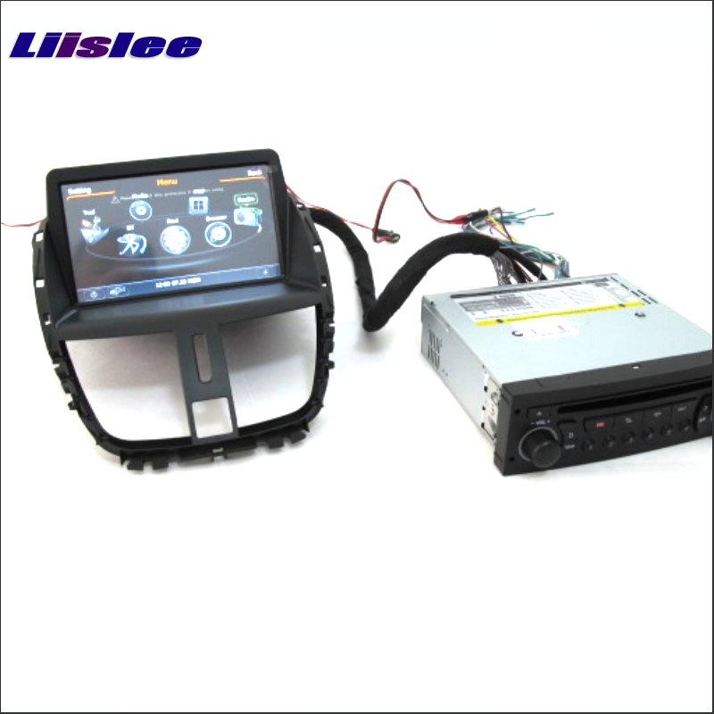 Liislee For <font><b>Peugeot</b></font> <font><b>206</b></font>+ Plus / 207 2006-2012 Radio DVD Player Screen Audio Stereo GPS Navi Map Navigation <font><b>Android</b></font> S160 System image