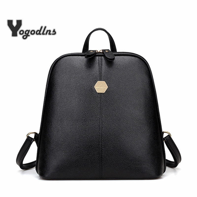 Simple Style Shell Shape Knapsack Women PU Leather Backpacks For Teenage Girls School rucksack  Fashion Solid Shoulder BagSimple Style Shell Shape Knapsack Women PU Leather Backpacks For Teenage Girls School rucksack  Fashion Solid Shoulder Bag