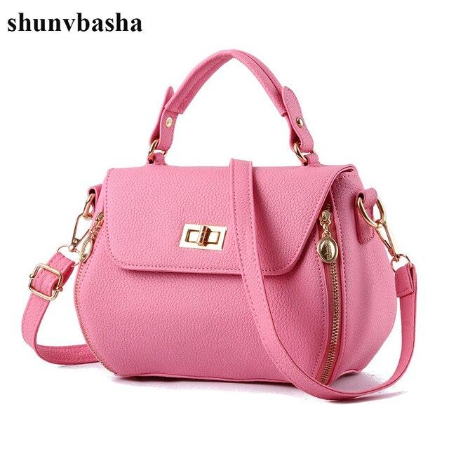 Women Crossbody Bags Las Leather Handbags Fashion Designer Tote Bag 2017 Luxury Brand Solid Shoulder Messenger