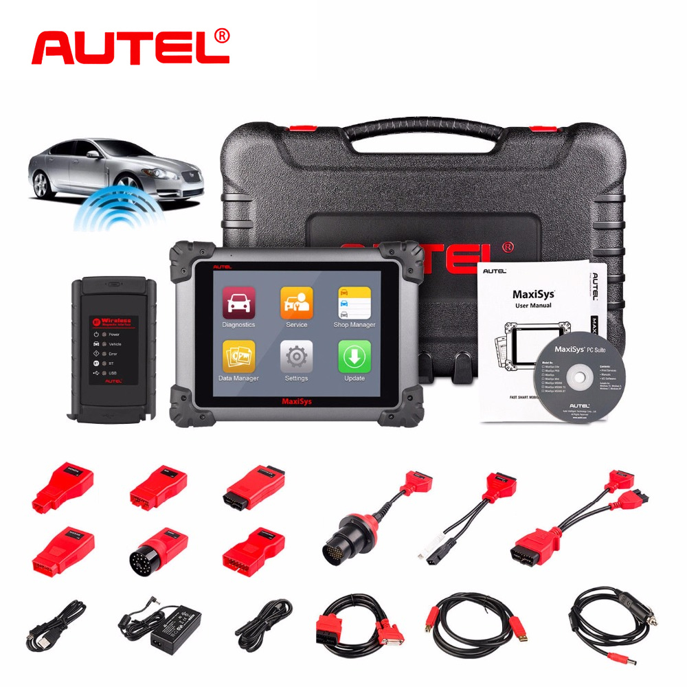 US $1598 0 30% OFF Autel MaxiSys MS908 Wireless OBD2 Auto Scanner  Diagnostic Tool OBD 2 Car Diagnostic Automotivo Scanner Better than launch  x431-in