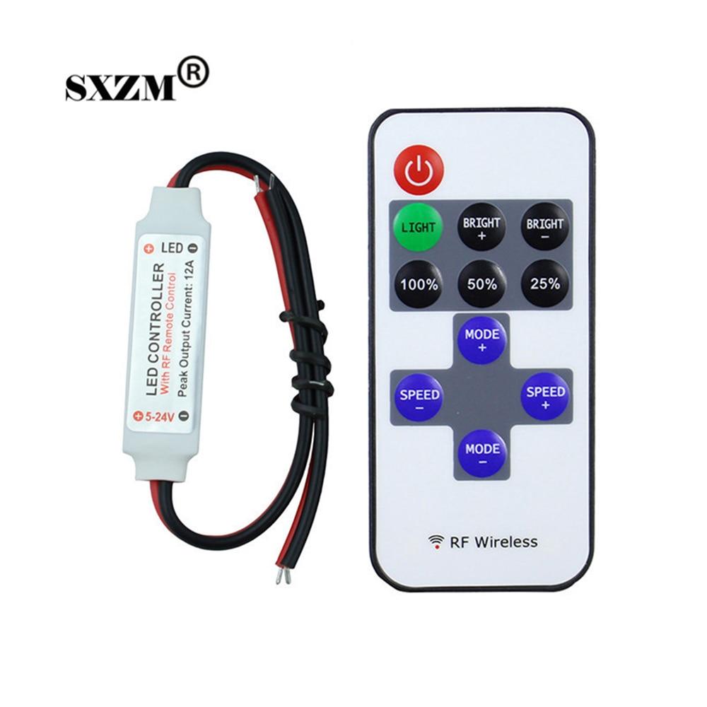 SXZM 1piece  RF wirelss led...