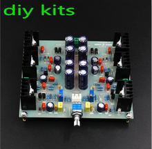 DIY комплекты JLH HOOD 1969, усилитель класса А, Малый усилитель мощности, предварительный усилитель для динамиков