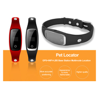 Pet Dog GPS Tracker Collar Dogs Cats Collars GPS Tracker GPS WaterProof USB Cable Rechargeable Pet Dog Security Fence