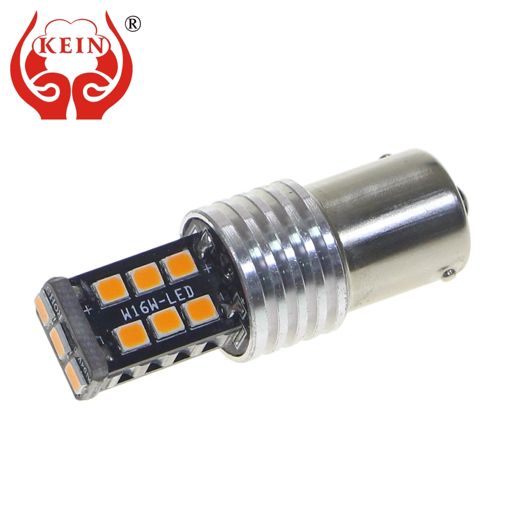 KEIN 2pcs T20 W21W 7440 7443 580 W21/5W Brake Bulb P21w 1156 ba15s 1157 bay15d P21/5W Reverse Light auto car LED Signal Lamp red