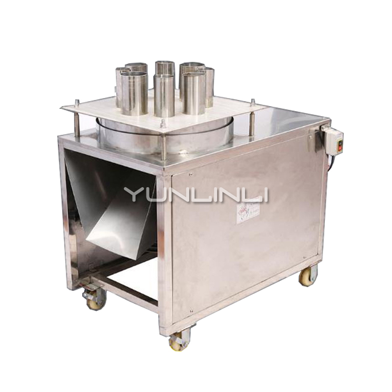 Commercial Automatic Slicer Herb Medicine Cutter Cassava Lotus Root Radish Sweet Potato Round Slices Pineapple Food Slicer YC 75