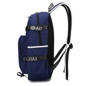 Image 3 - WISHOT triumph multifunction USB charging  backpack teenagers Men womens Student School Bags travel Bags
