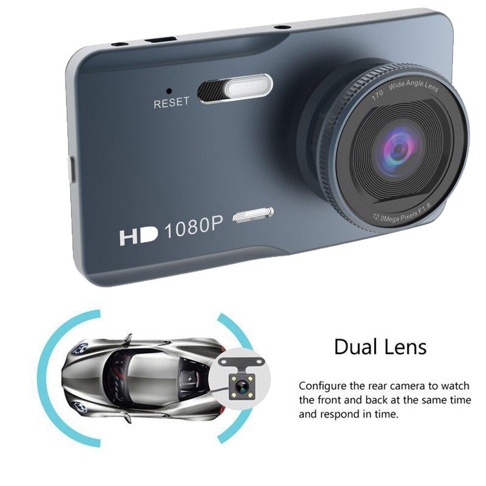Dash Cam Auto DVR Kamera 1080P HD Dashcam 4k Auto Kamera Nachtsicht 170 Weitwinkel G-sensor Fahr Recorde Parkplatz Monitor