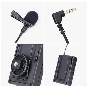 Image 4 - Mailada WM8 Professionelle UHF Wireless Mikrofon System Video Aufnahme Lavalier Revers Mic für iPhone DSLR Recorder Interview