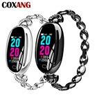 COXANG E68 Smart Watch Женщины 0 96-дюймовый монитор сердечного ритма IP67 Водонепроницаемый Спорт Ф ①