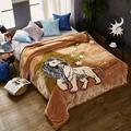 Двенадцать созвездий  испанское Роскошное Одеяло с облаками  Созвездие мечты  фланелевое одеяло  Двойное супер мягкое одеяло  подарок на св...