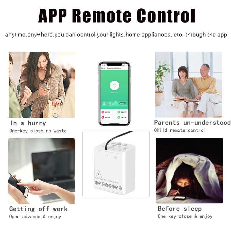 Nuevo módulo de dos vías Aqara, Control de canales dobles, controlador inalámbrico de Motor AC para Smart Home