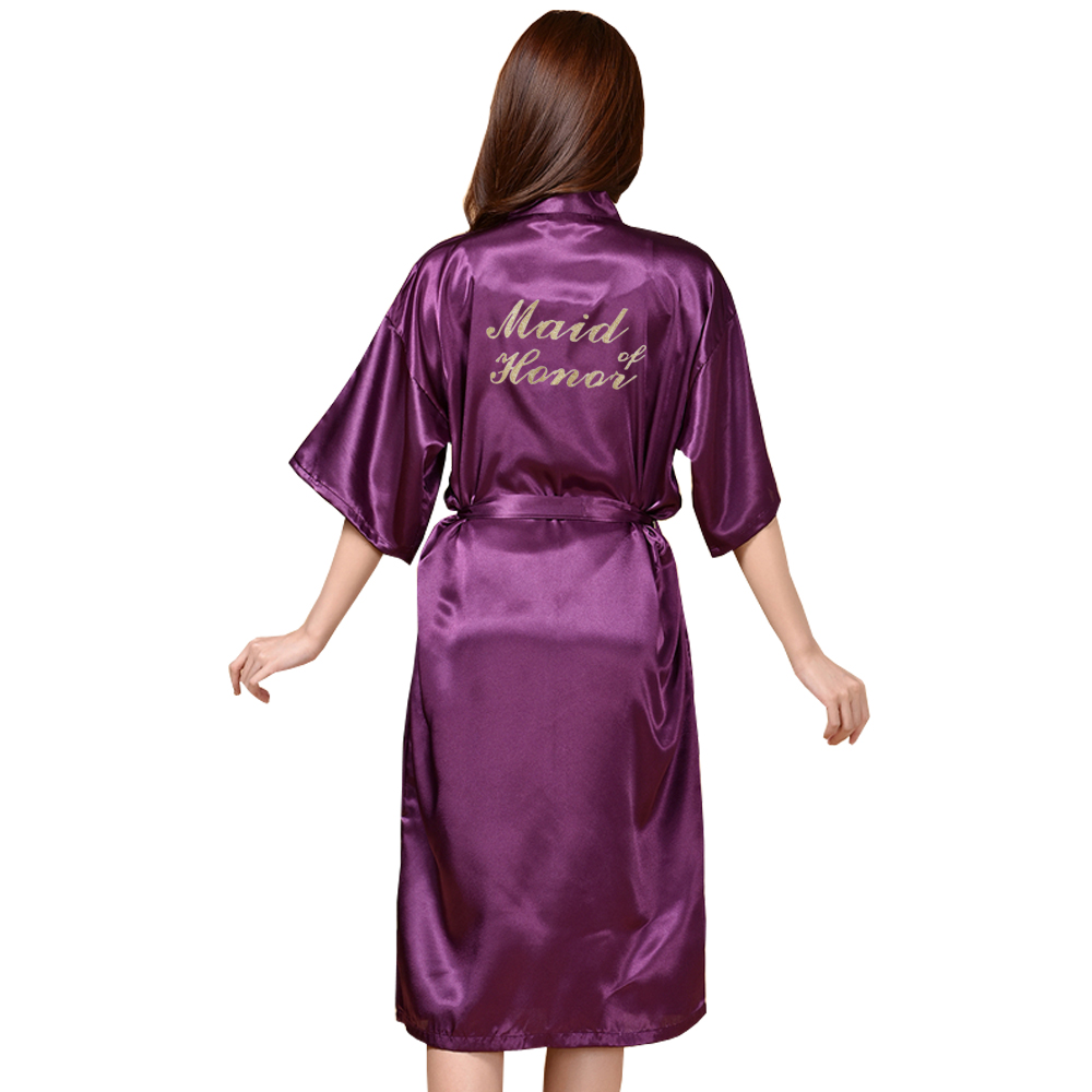 TJ01 gran tamaño S-3XL carta oro novia dama prepárate trajes regalos ...