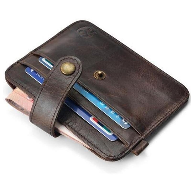 100% genuineFamous Märke Luxury Slim Wallet Män Handväska - Plånböcker - Foto 3