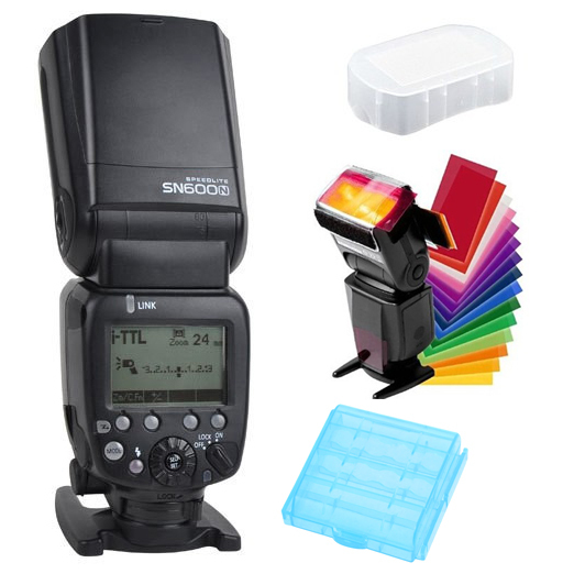 Shanny SN600N Master HSS 1/8000s GN60 i-TTL/M/RPT Flashgun Flash Speedlite for Nikon D610 D810 D800 D7100 D90 D750 D5300 d700 camera dslr twin dual arm shoe macro flash bracket for nikon d90 d700 d7000 d7100 d800 d810 d300 d5300 flashgun speedlite ttl m