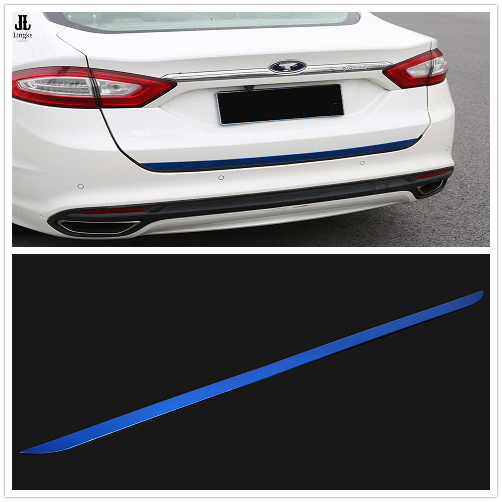 MATTE Black Rear Quarter Window Side Louvers Cover For Ford Fusion Mondeo 13-18