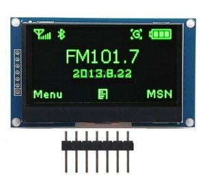 "Image 5 - 2.42"" Inch 12864 128 * 64 OLED Display Module IIC I2C SPI Serial White/Blue/Green/Yellow LCD Screen for C51 STM32 SSD1309"