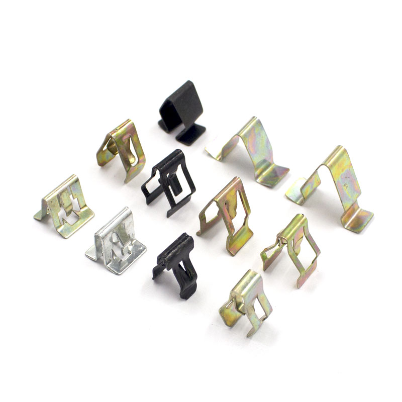 Details about  /Car Dashboard Retainer Console Panel Trim Metal Fastener Clips 20.5 x 16mm 10pcs