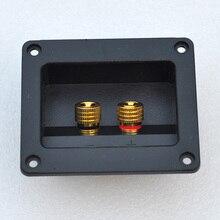 Hotsale speaker wiring box thickening pure copper line column wiring board seal pad audio notum