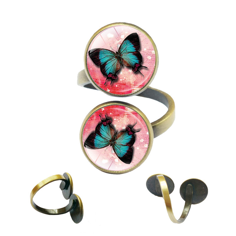 Butterfly Rings Women Jewelry Vintage Fashion Cute for Summer-Style Hot-Selling-Accessories