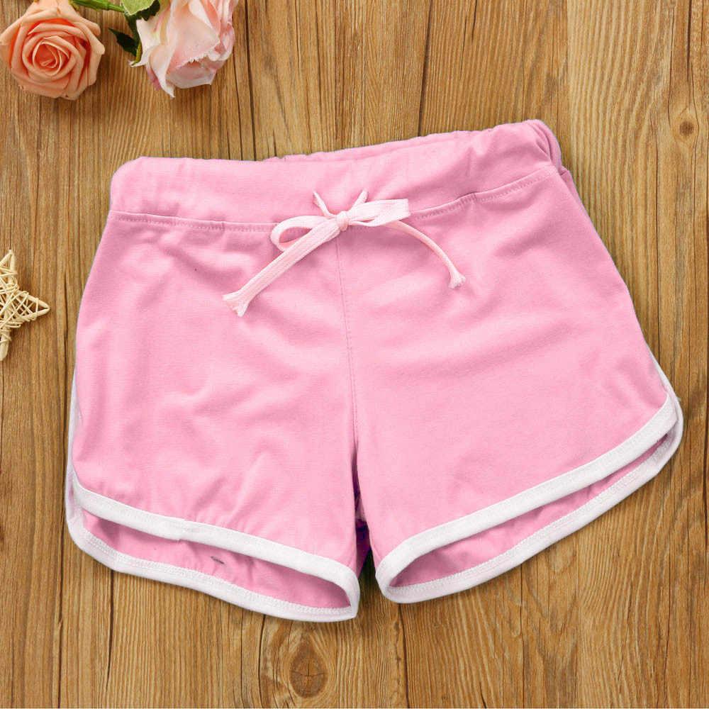 YOUYEDIAN kobiety letnie szorty mieszanka bawełny spodnie kontrast wiązania boczne podziel elastyczny pas Patchwork dorywczo krótkie spodnie # w30