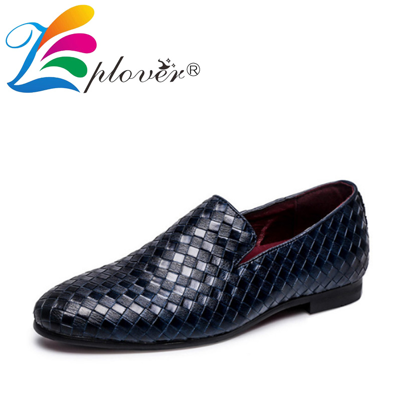 Men Shoes Luxury Brand Braid Loafers Leather Casual Driving Oxfords Shoes Men Loafers Moccasins Italian Shoes For Men Flats
