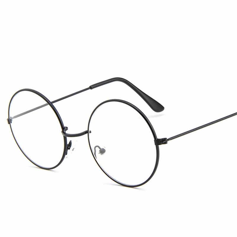 795d89fa6a ... Cubojue Harry Potter Glasses Women Men Small Round Eyeglasses Women s  Degree Frame Nerd Men s Spectacles Prescription ...