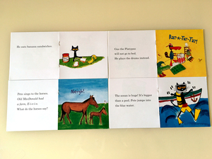 Image 4 - 12pcs/set I Can Read pete the cat English Picture Books Children story book Early Educaction pocket reading book 13x13 cm