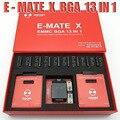 Nuevo MOORC E-MATE X E MATE PRO caja de EMATE EMMC BGA 13in 1 100, 136, 168, 153, 169, 162 186, 221, 529, 254, fácil jtag plus