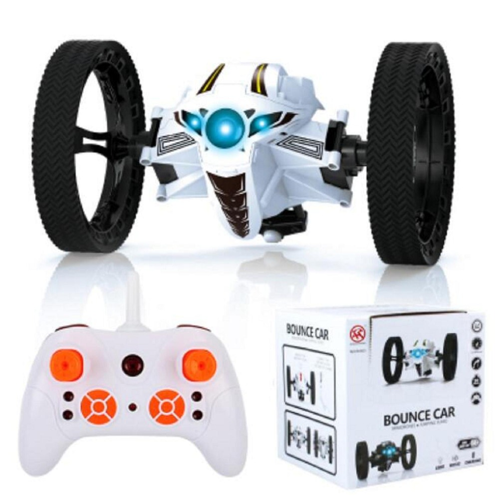 Rc jumping bounce cars shock resistance 4ch 2 4ghz with flexible wheels speed switch dec30 robot